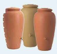 graf regen amphore 500l terracotta 211702 wasserspeicher. Black Bedroom Furniture Sets. Home Design Ideas