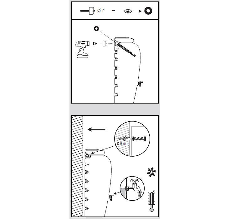 graf regenwasser amphoren wand tank 350l terracotta art jardin. Black Bedroom Furniture Sets. Home Design Ideas