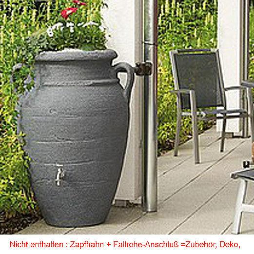 graf regenwasser tonne antik amphore 360l in 3 farben art jardin. Black Bedroom Furniture Sets. Home Design Ideas