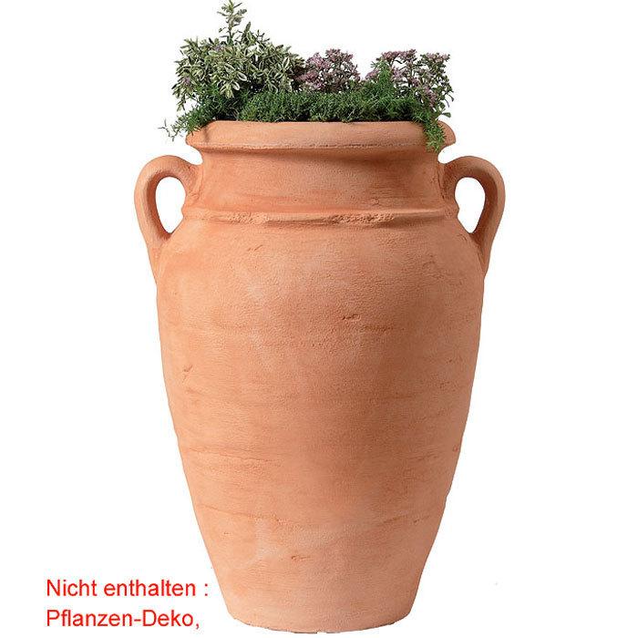 Graf pflanzgef antik pflanz amphore 90l terracotta for Gartendeko terracotta