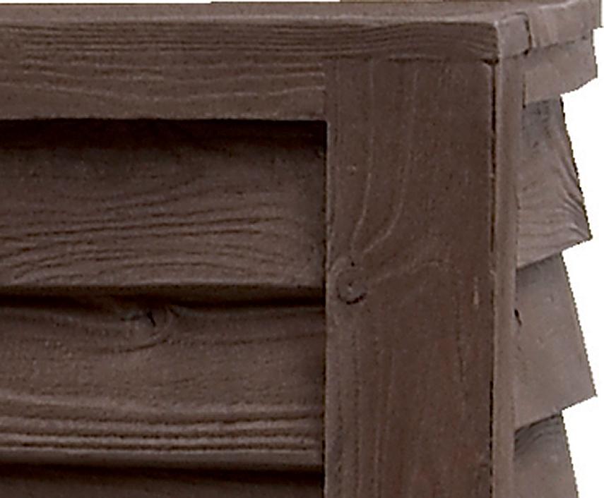 graf regenwasser tonne wandtank woody 350l darkwood 212200 regenfass ohne zapfhahn filter. Black Bedroom Furniture Sets. Home Design Ideas