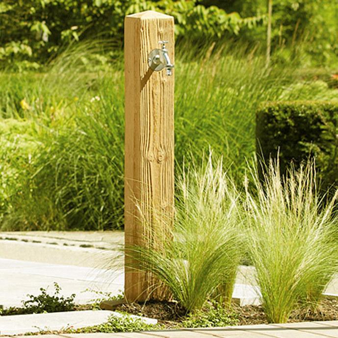 Graf Wasserzapfsäule Wood Darkwood Lightwood Schlauch Artjardin