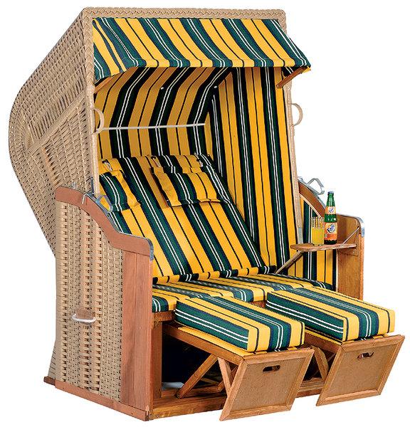 strandkorb rustikal 250plus sonnenpartner 70017402 89 art jardin. Black Bedroom Furniture Sets. Home Design Ideas