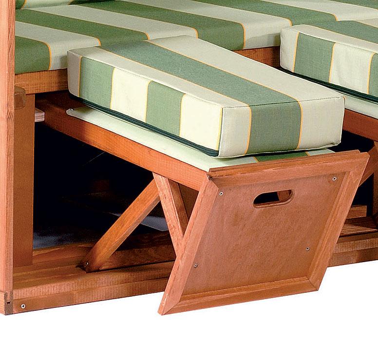 strandkorb rustikal 250plus sonnenpartner 70017802166 art jardin. Black Bedroom Furniture Sets. Home Design Ideas