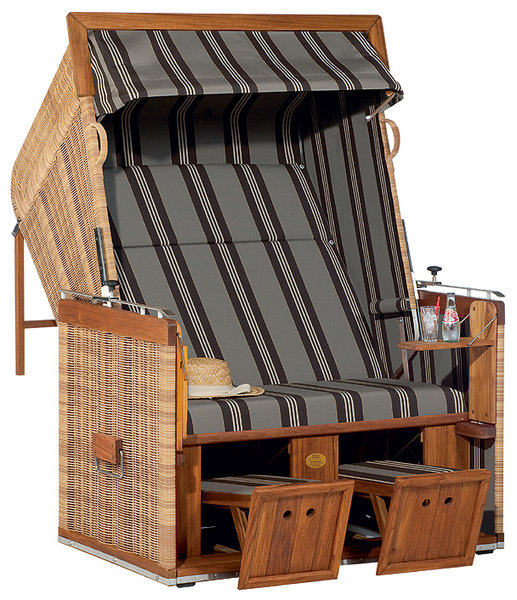sonnenpartner premium wahl strandkorb pr sident teak art. Black Bedroom Furniture Sets. Home Design Ideas