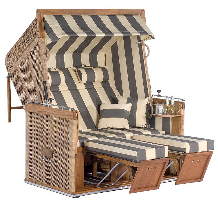 sonnenpartner premium strandkorb pr sident teakholz art jardin. Black Bedroom Furniture Sets. Home Design Ideas
