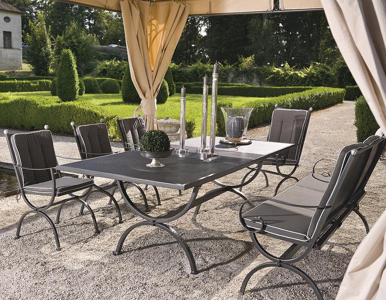 mbm sessel rosanna elegance gartenm bel eisen art jardin. Black Bedroom Furniture Sets. Home Design Ideas
