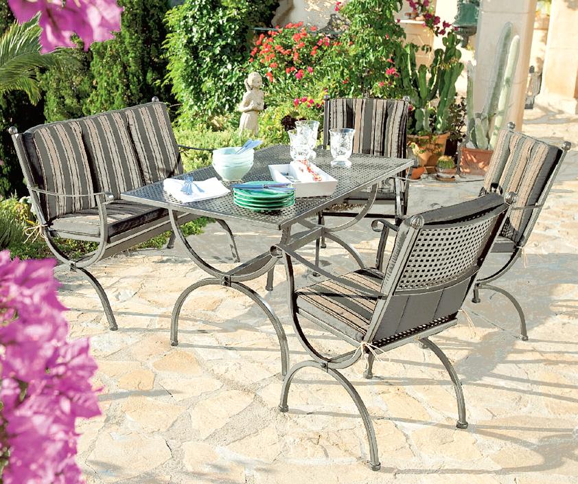 MBM Tisch Romeo deluxe 90×160 65000511 Gartenmöbel  Art Jardin