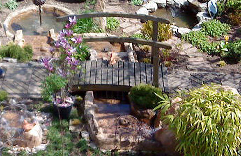 Felsdekor Gartenteich Anlage Bachlauf groß 10-tlg sand- ArtJardin