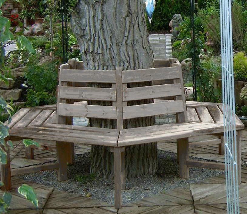 sonnholz muster baumbank schaugarten thermokiefer art jardin. Black Bedroom Furniture Sets. Home Design Ideas