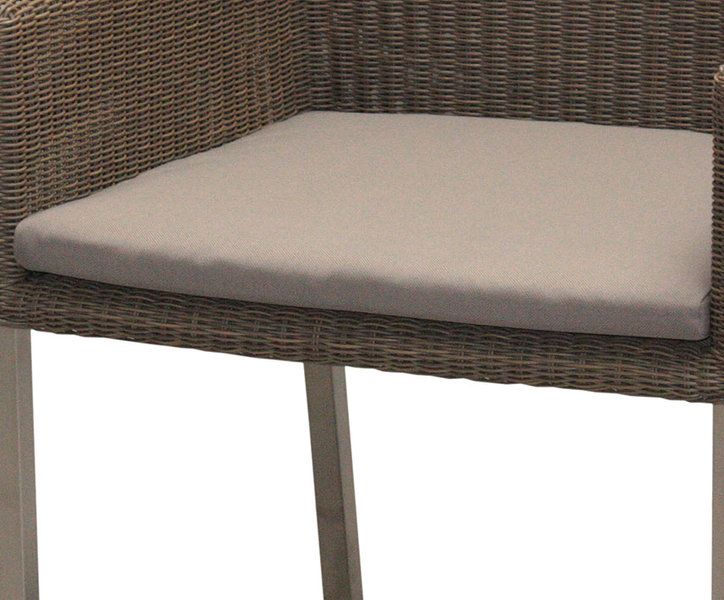 zebra sitzkissen stone 7561 f r sessel kubex polster art jardin. Black Bedroom Furniture Sets. Home Design Ideas