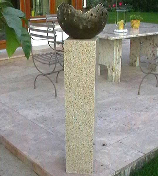 rottenecker feuerschale fire gro bronze braun 22041 art jardin. Black Bedroom Furniture Sets. Home Design Ideas