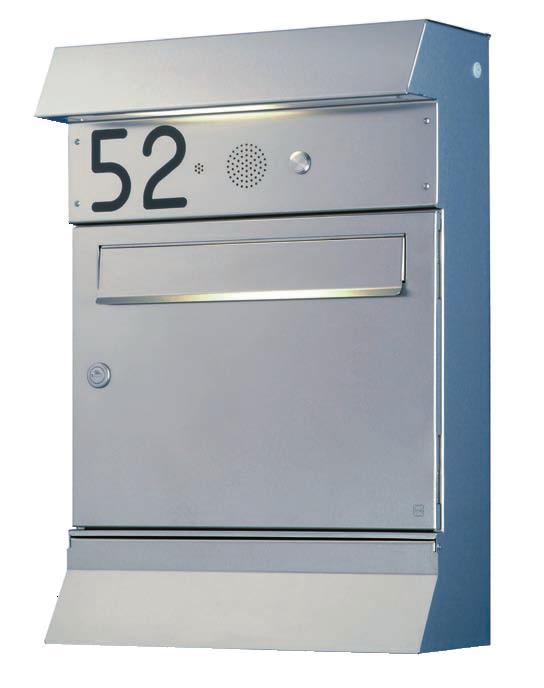 heibi doppel briefkasten malypso kombi 64496 072 edelstahl postkasten freistehend mit 1. Black Bedroom Furniture Sets. Home Design Ideas