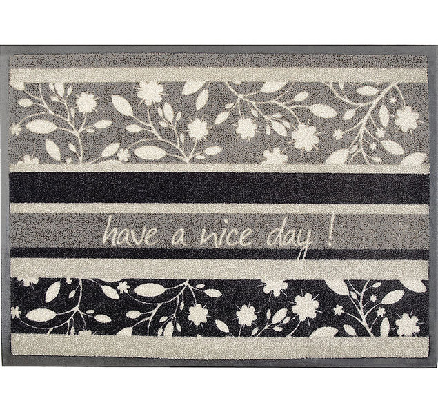 akzente easy clean fu matte 50x70 nice day grau 27339 art jardin. Black Bedroom Furniture Sets. Home Design Ideas