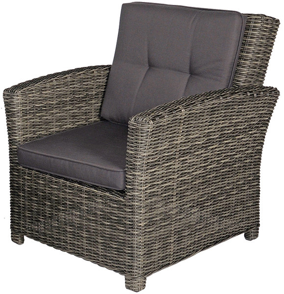 Supperclub polyrattan lounge sessel 42864 jazz deluxe art for Lounge sessel polyrattan