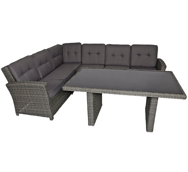supperclub polyrattan lounge sessel 42864 jazz deluxe art jardin. Black Bedroom Furniture Sets. Home Design Ideas