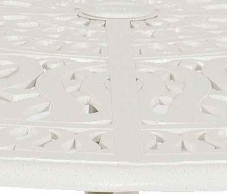 hartman esstisch 120cm rund amalfi stracciatella wei tisch aluminium gu gartentisch art jardin. Black Bedroom Furniture Sets. Home Design Ideas