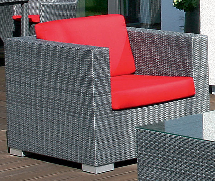 Best Excellent Best Lounge Sessel Residence Polyrattan Graphitsch Design  Gartenmbel Ohnekissen With Gartenmbel Polyrattan Grau With Polyrattan Stuhl  Grau ...