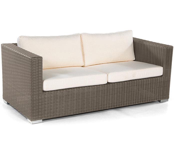 Sonnenpartner 2Sitze Lounge Sofa Residence Polyrattan Art Jardin