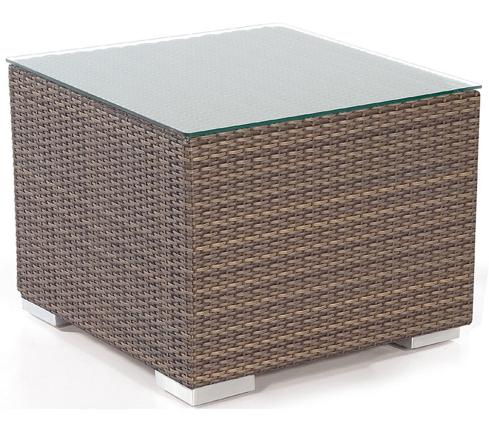 sonnenpartner lounge sitz hocker residence polyrattan art jardin. Black Bedroom Furniture Sets. Home Design Ideas