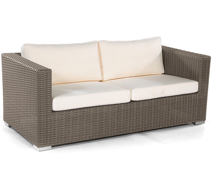 sonnenpartner lounge couchtisch 60x60 residence polyrattan tisch cappuccino 80070963 art jardin. Black Bedroom Furniture Sets. Home Design Ideas