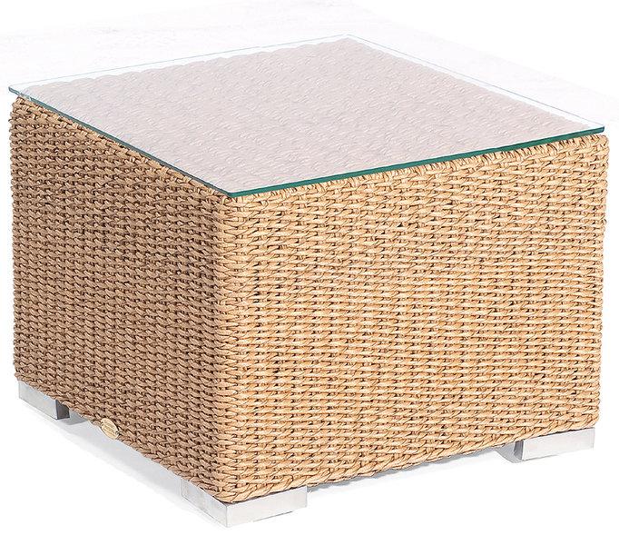 sonnenpartner lounge couchtisch 60x60 residence polyrattan design tisch 80071324 stone grey