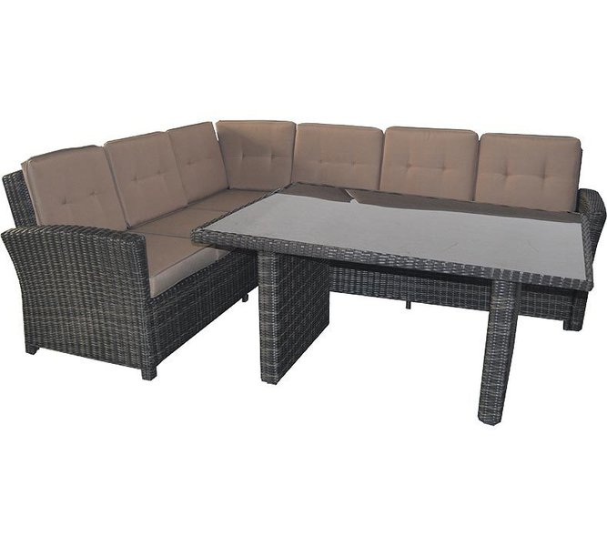 supperclub polyrattan lounge hocker jazz deluxe 42867 art jardin. Black Bedroom Furniture Sets. Home Design Ideas