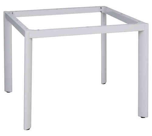 Gartenmobel Teak Und Mehr : Queen´s Garden Tischgestell 95x95cm Alu weiß 866306 Tisch System