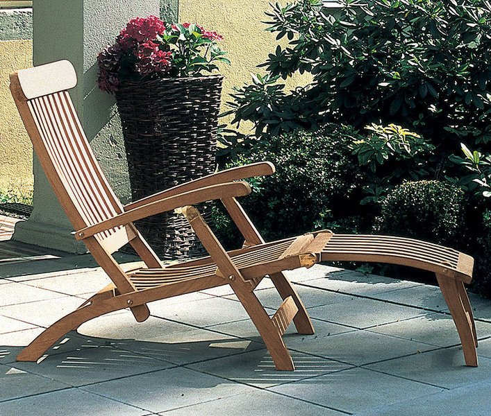 sonnenpartner deckchair manhattan 800 500 93 teakholz art jardin. Black Bedroom Furniture Sets. Home Design Ideas