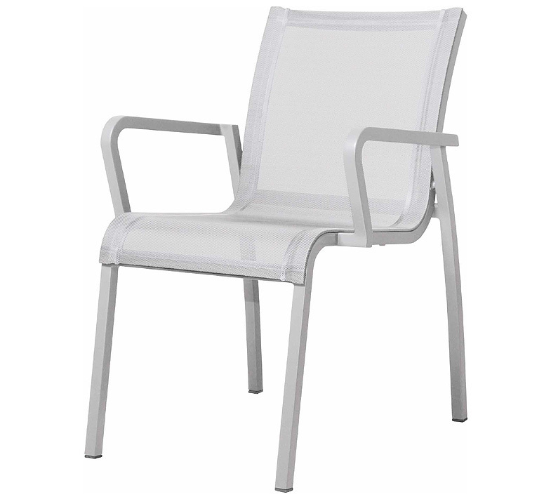 zebra stapel sessel gecko alu wei 5221 gartenstuhl abverkauf restposten art jardin. Black Bedroom Furniture Sets. Home Design Ideas