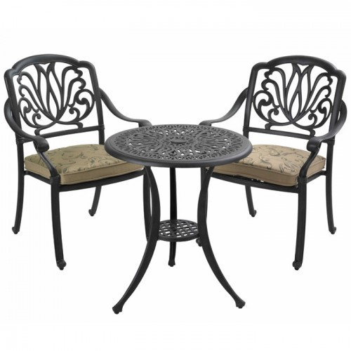 hartman bistro tisch 62cm rund amalfi bronze alu guss art jardin. Black Bedroom Furniture Sets. Home Design Ideas
