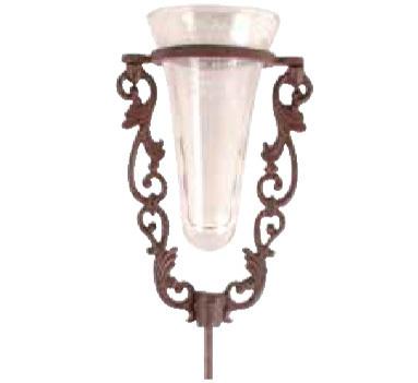 Regenmesser th39 glas gusseisen rostoptik gartendeko art for Gartendeko rostoptik