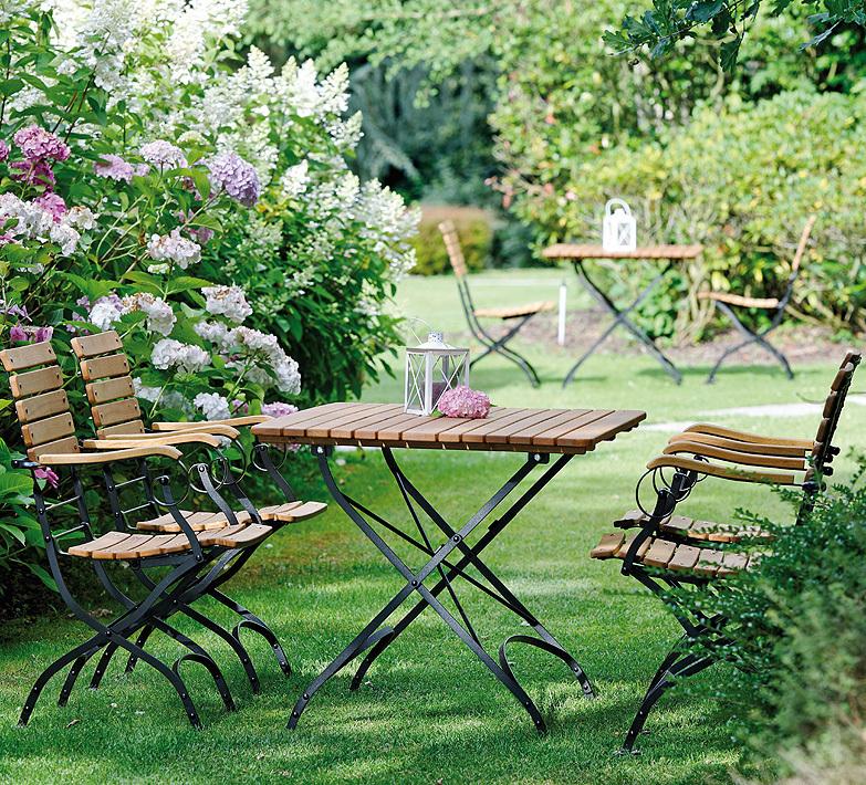 Teakholz Gartenmobel Edelstahl : Stern Klappsessel Camargue 426651 Stahl Zink Robinie  Art Jardin