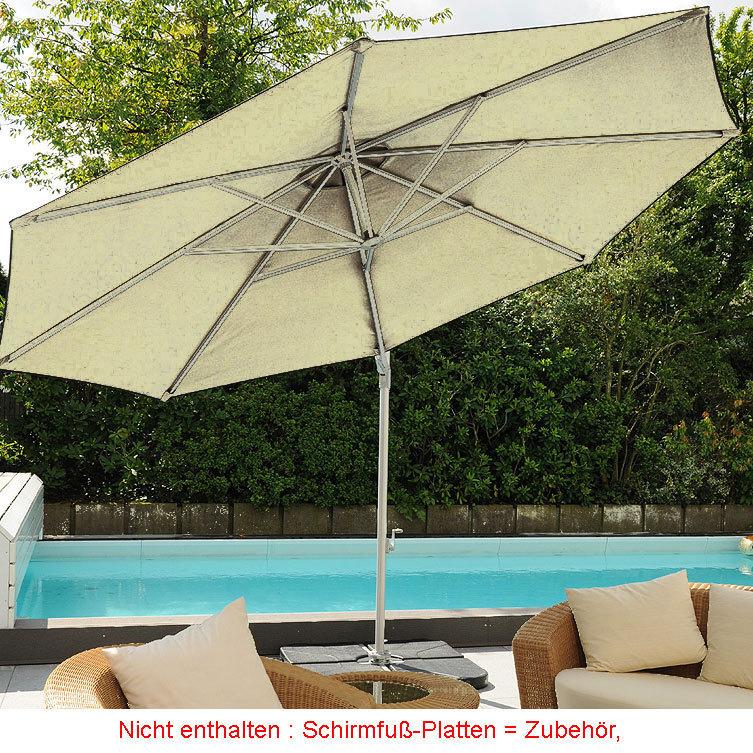 zangenberg ampelschirm sainttropez d3 5m sonnenschirm art jardin. Black Bedroom Furniture Sets. Home Design Ideas