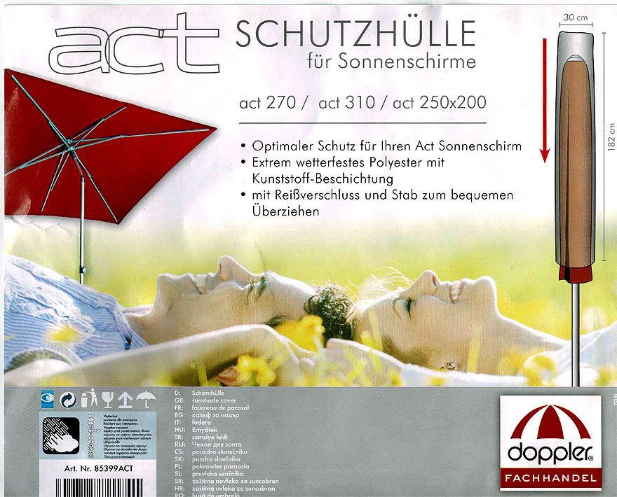 Doppler Schutzhulle 85399act Fur Act Sonnen Schirme Art Jardin