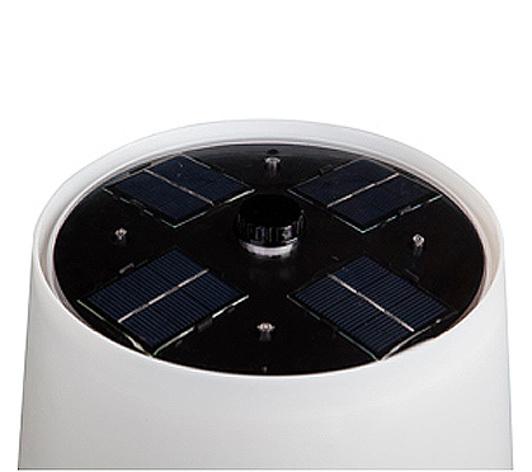 gacoli led solar leuchte monroe no 3 edelstahl 983132 art jardin. Black Bedroom Furniture Sets. Home Design Ideas