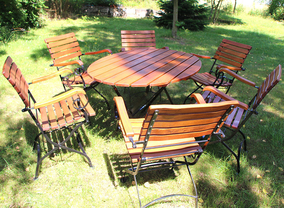 Awo Gartenmobel Set Lord 7tlg Sessel Tisch 130 Oval Art Jardin