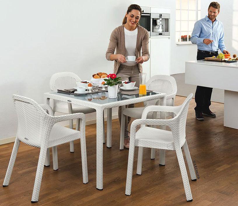 gartenmobel design tisch interessante. Black Bedroom Furniture Sets. Home Design Ideas