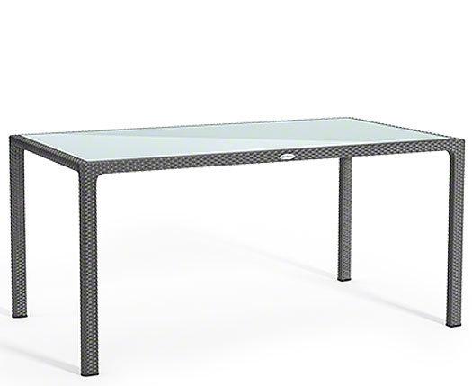 Lechuza Design Tisch 160x90cm Cottage granit 10933 Polyrattan ...