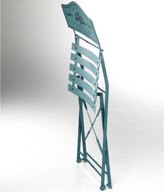 Wohnideen Used Look locker 3tlg bistro balkonset eisen türkis 20027 jardin