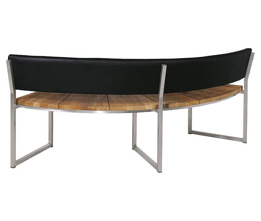 zebra bank 7248 onyx 1 4 rund 171cm edelstahl recycled. Black Bedroom Furniture Sets. Home Design Ideas