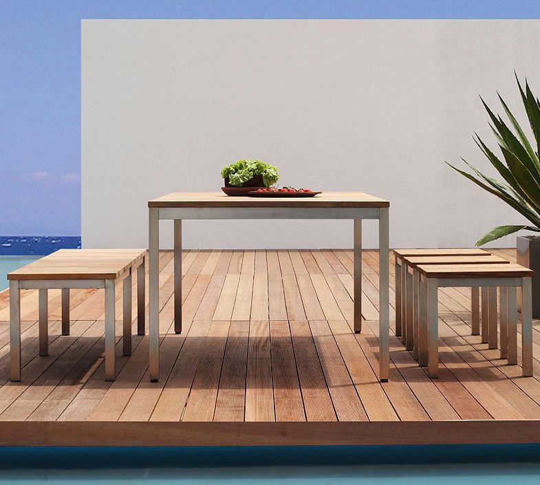 zebra tisch naxos 60x100cm 7216 esstisch edelstahl. Black Bedroom Furniture Sets. Home Design Ideas