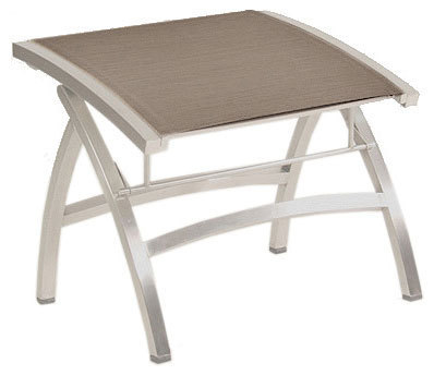 zebra design hocker pontiac verstellbar 3307 edelstahl batyline espresso fu hocker klappbar. Black Bedroom Furniture Sets. Home Design Ideas