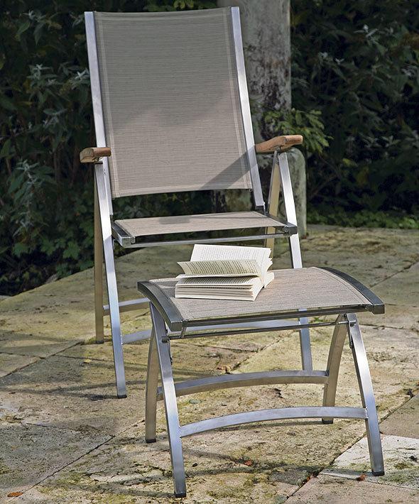 Gartenmobel Kunststoff Bunt : Zebra Design Hocker Pontiac verstellbar 3307 Edelstahl + Batyline