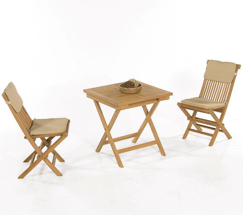 sunnysmart balkonset 3tlg bristol teakholz klappm bel art. Black Bedroom Furniture Sets. Home Design Ideas