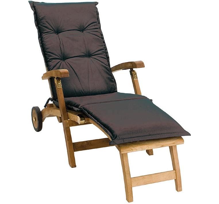 zebra kissen polster auflage teak 17830 f r deckchair art jardin. Black Bedroom Furniture Sets. Home Design Ideas