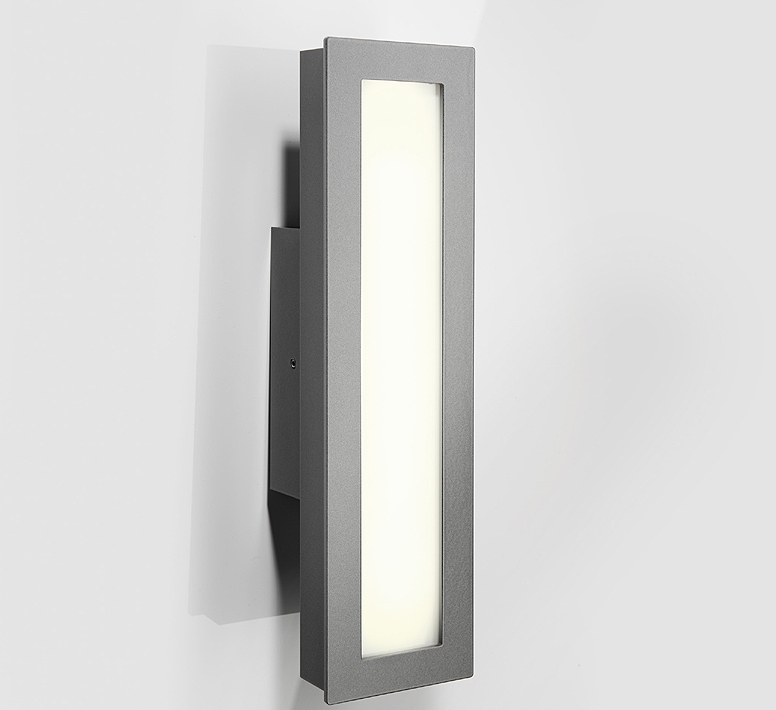 Heibi LED Wandleuchte Cenia 68133 072 Edelstahl Lampe Art