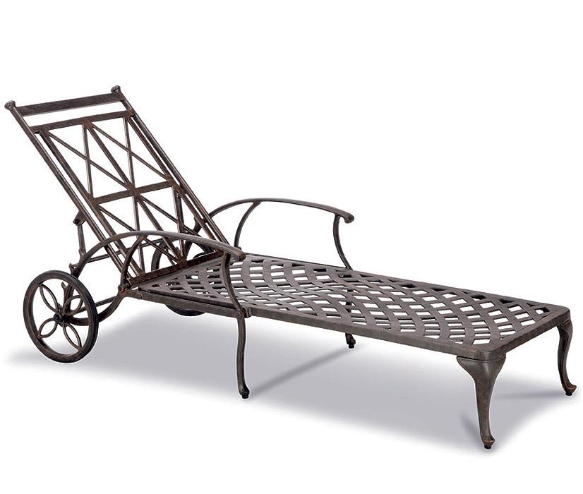 BEST Rollliege Antigua 44240076 Liege Aluguß bronce - Art Jardin
