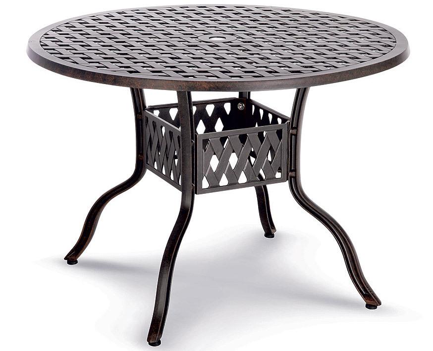 Best Tisch Rund 106cm Antigua 44251176 Aluguss Bronce Art Jardin
