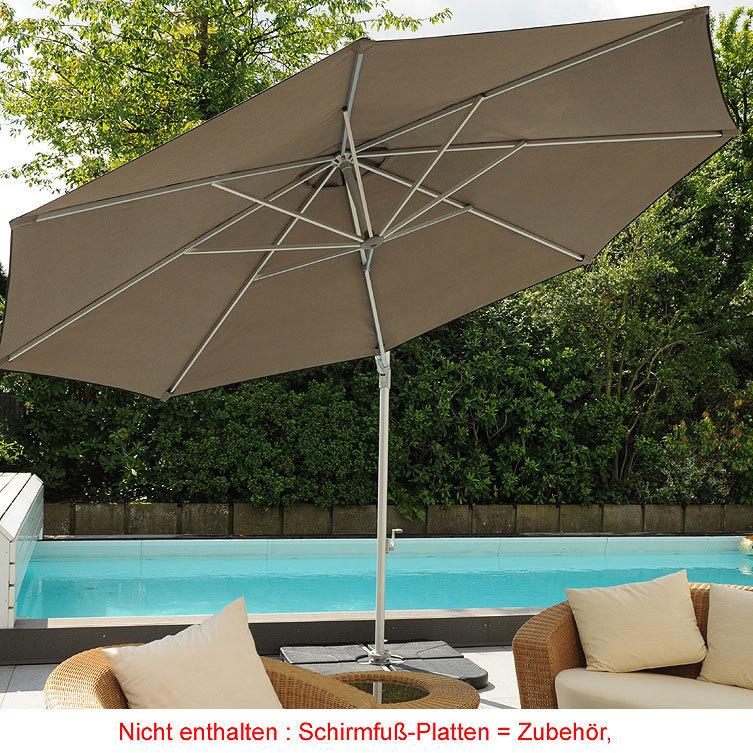 zangenberg ampelschirm st tropez xl d3 5m sonnenschirm. Black Bedroom Furniture Sets. Home Design Ideas